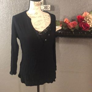 🌹Old Navy SP Black Tunic Top